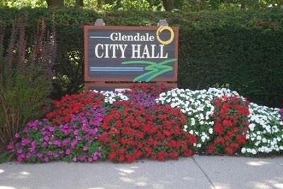Glendale City Hall welcome sign
